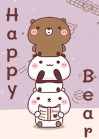 Happy Three Bear