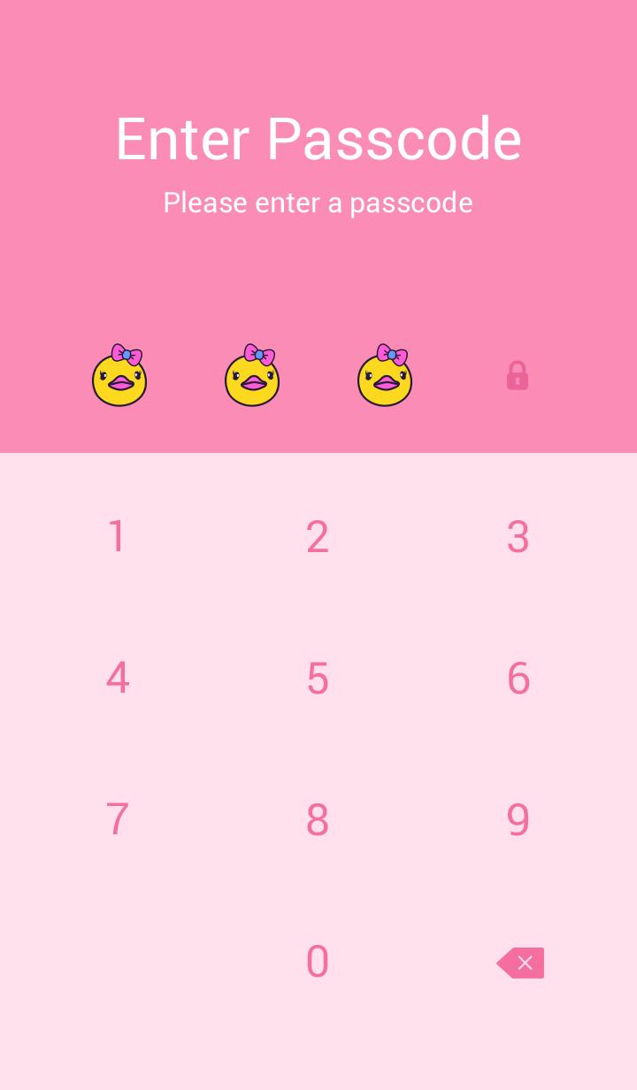 Pinky Happy Ducky