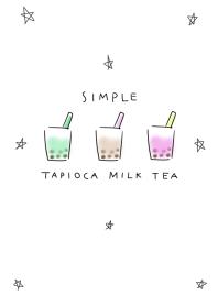 簡單 木薯 奶茶