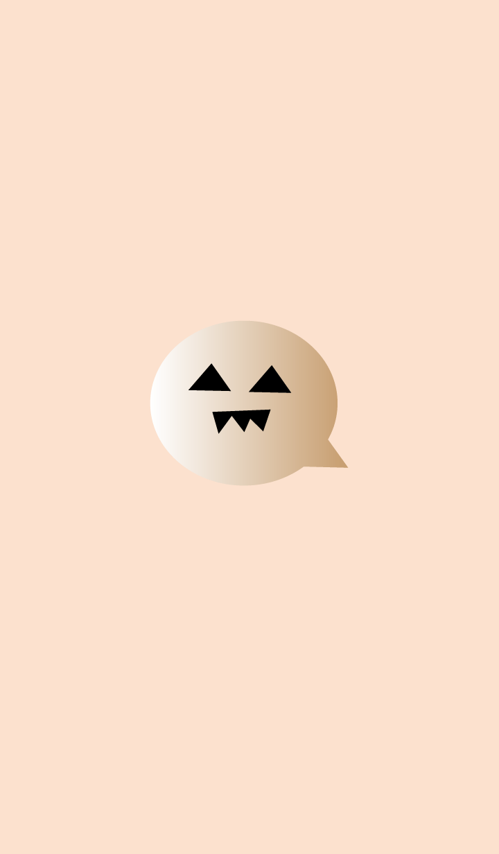simple Halloween(beige2)