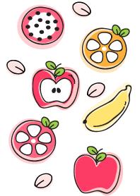 Cute fruits theme 37 :)