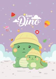 Dinosaur Love Violet