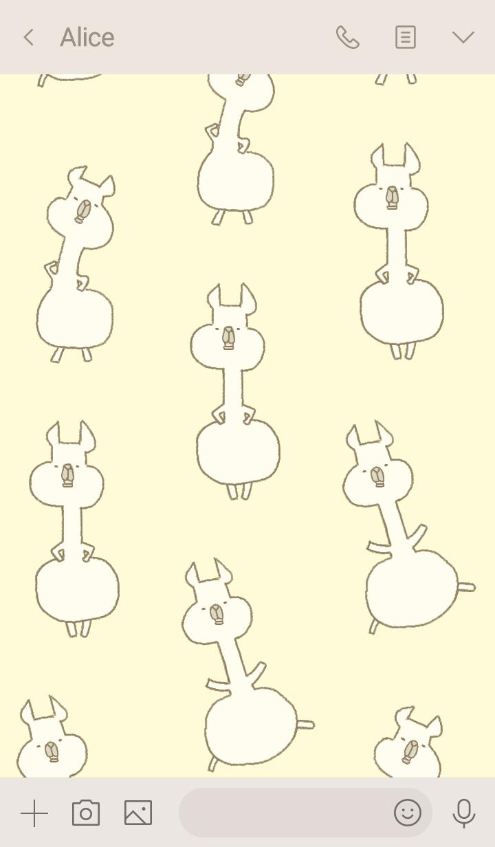 Llama&viscacha