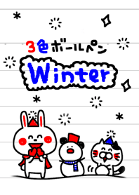 -3 color pen-sticker3-winter