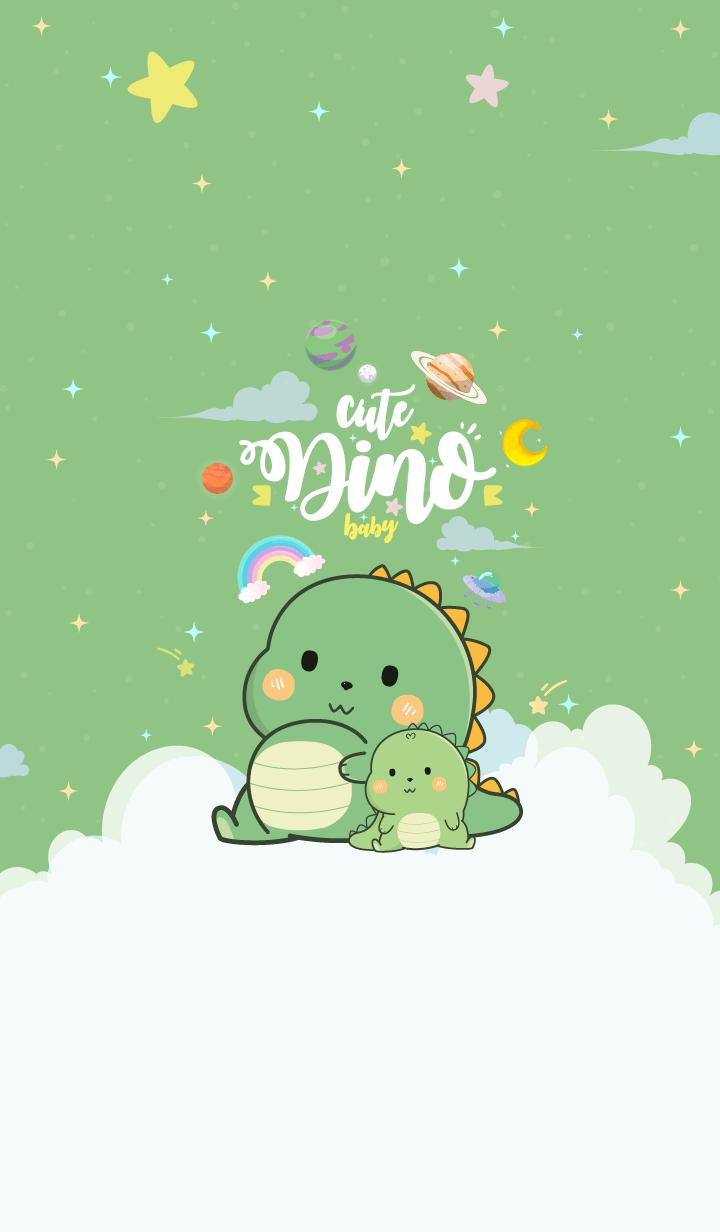 Dinosaur Lover Green
