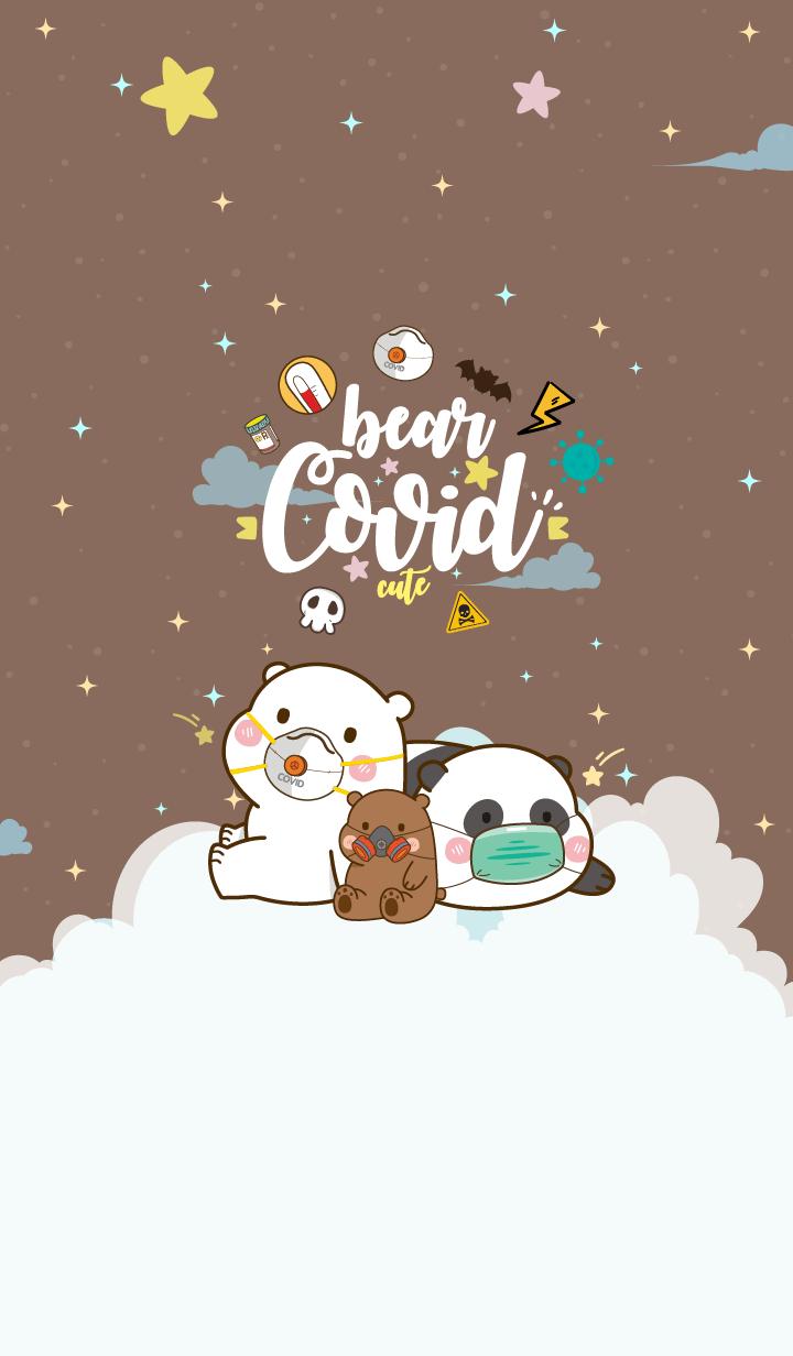 Bear Covid-19 Brown