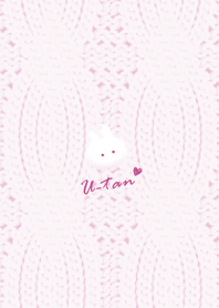 Rabbit and Knit pink12_1