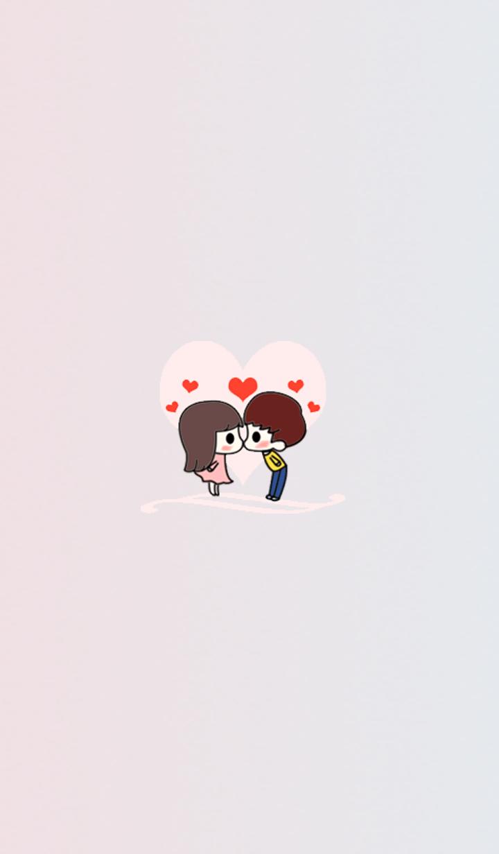 Cute Little Love Couple