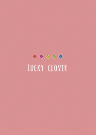 Red : Simple clover power stone
