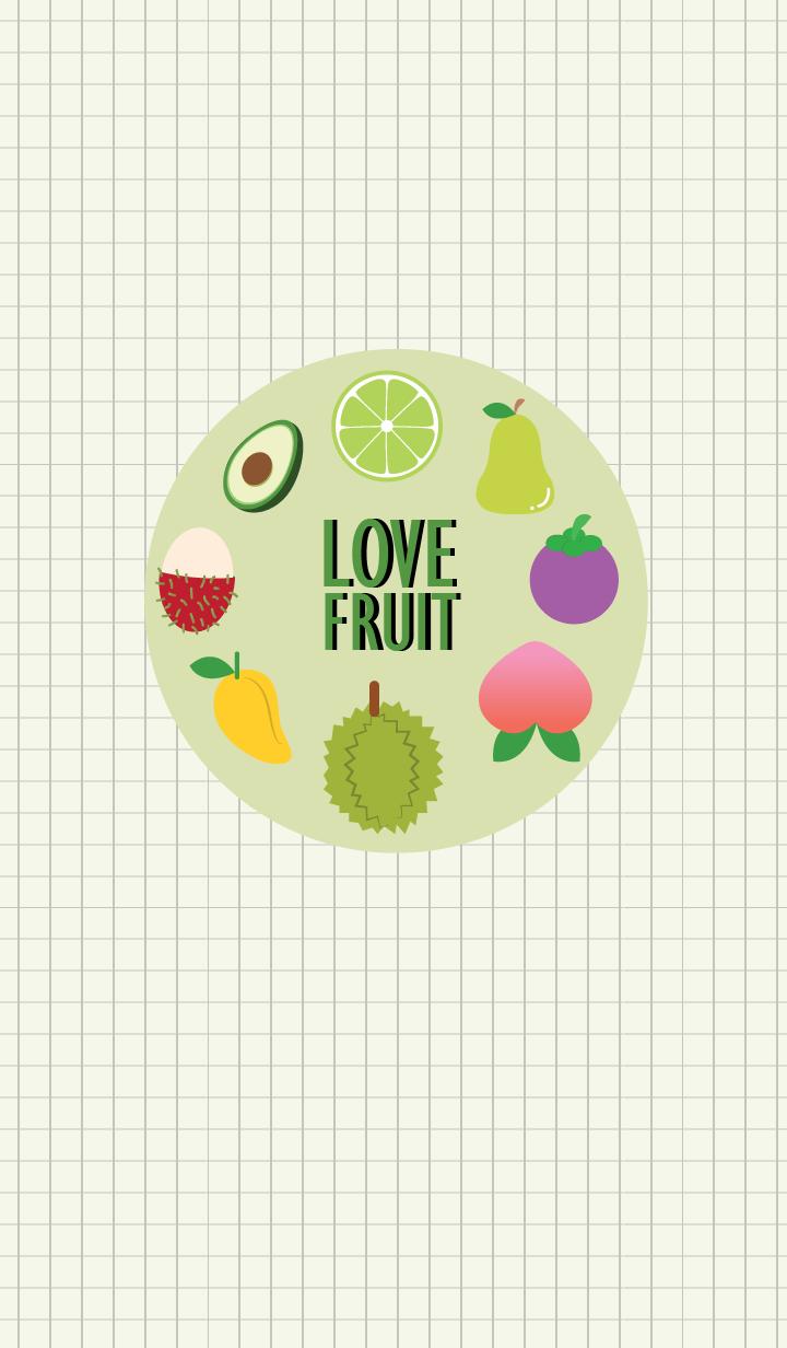 Love Love Fruit Theme