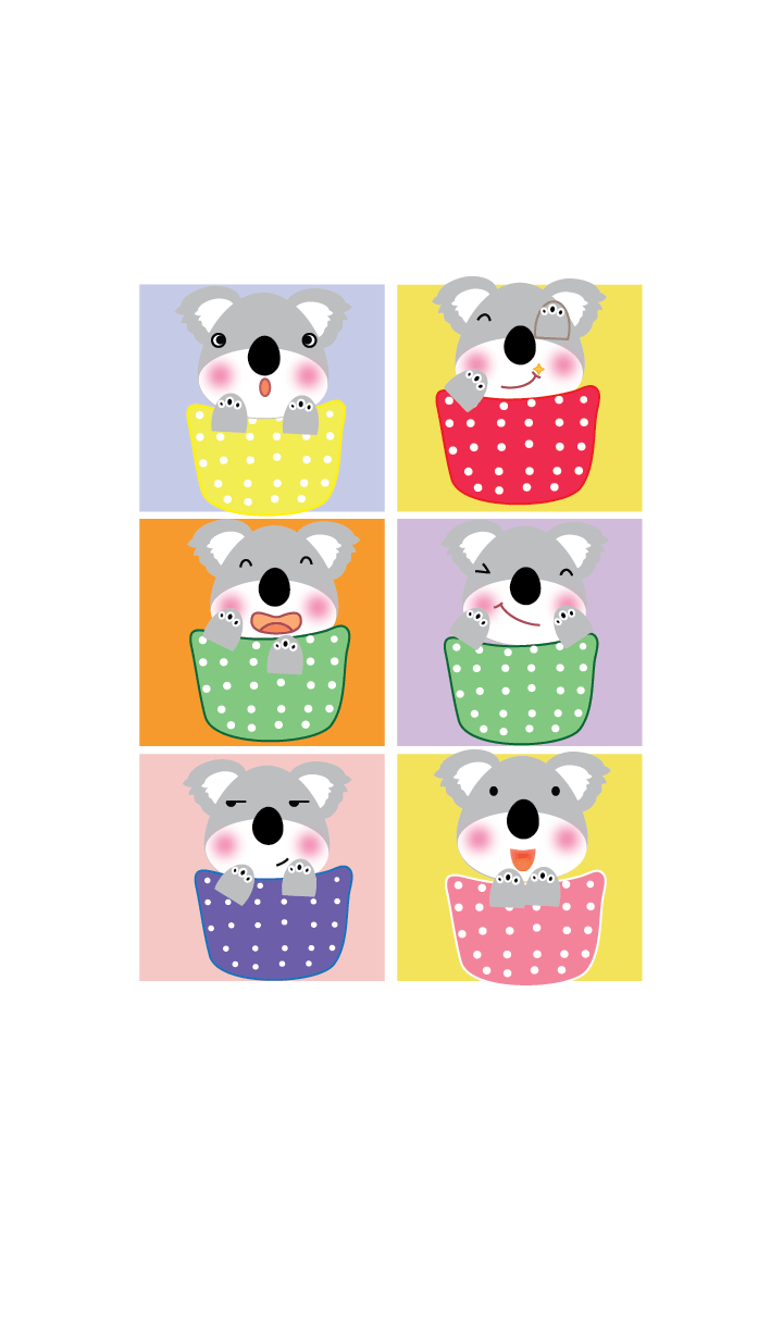 Simple cute Koala theme v.8 (JP)