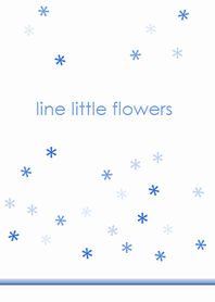 Line Little Flowers