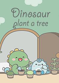 Dinosaur : plant a tree!