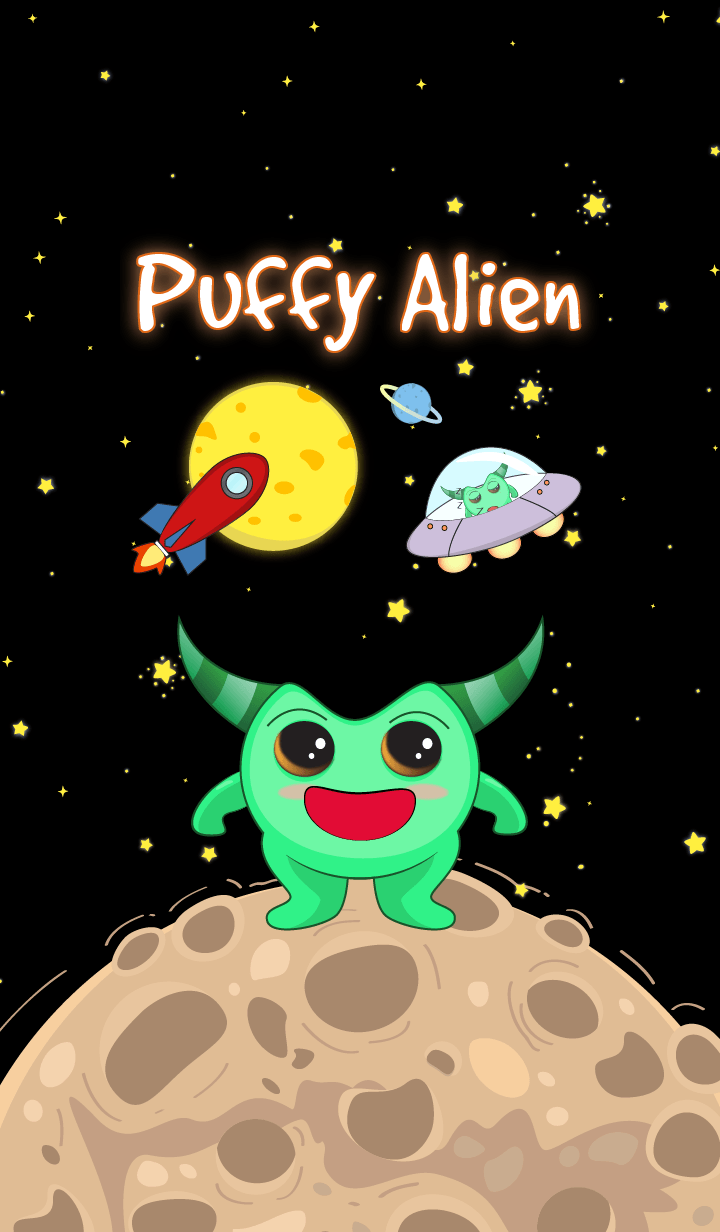 Green Puffy