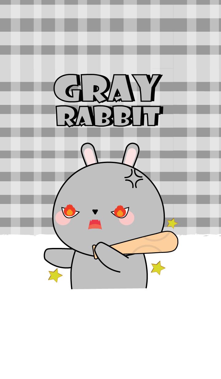 I 'm Cute Gray Rabbit (jp)