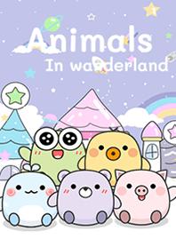 Animals in wonderland