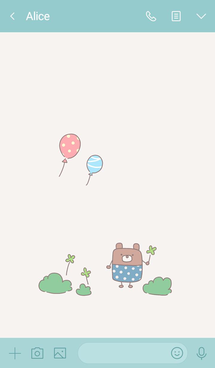 Cute bear.4.
