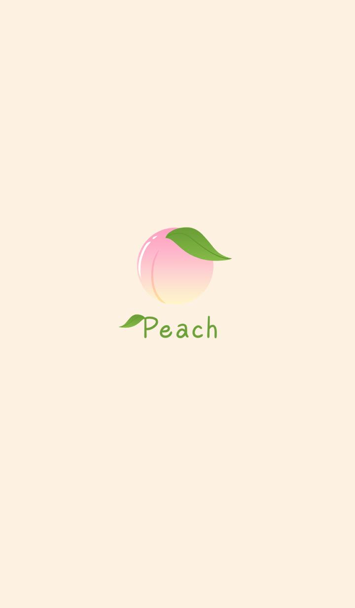 Simple -Peach-
