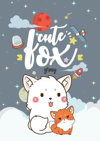 Fox Lovely Galaxy Gray