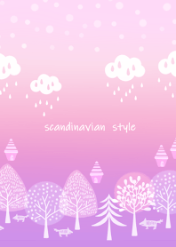 Nordic calm and gentle forest3.