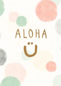 Adult watercolor Polka dot - smile19-