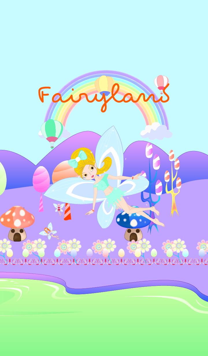Fairyland - violet pastel