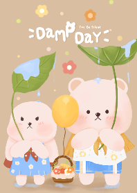 Two Be friend :  Damp day