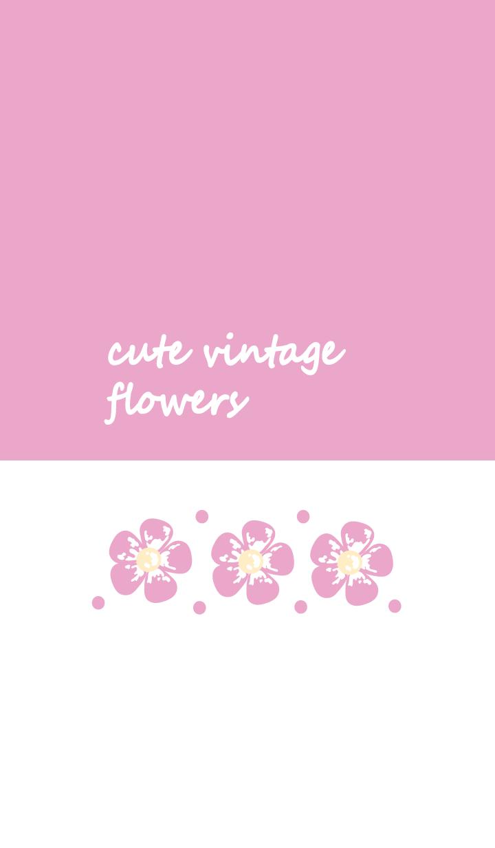 Cute vintage flower 11 :)