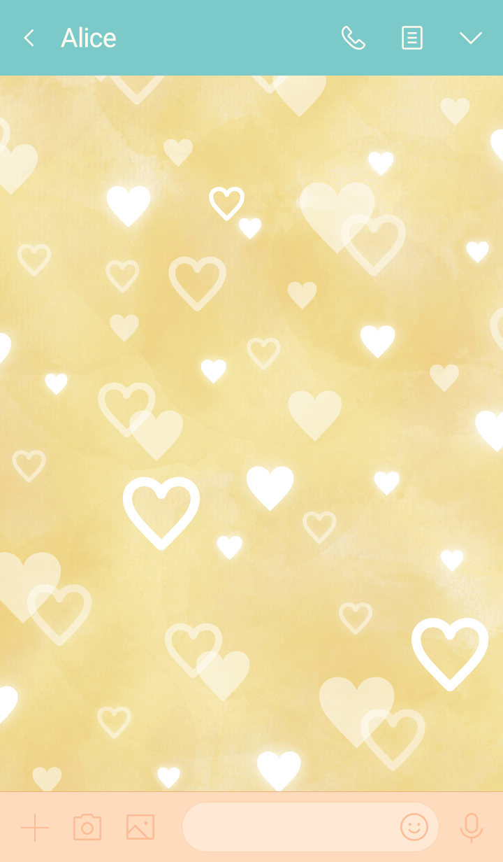 Smile beige - many hearts7-