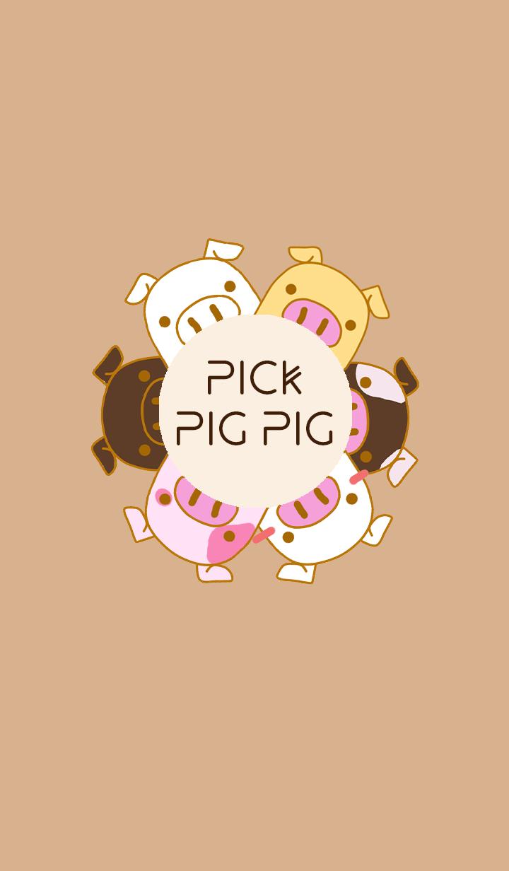 Pick Pig Pig
