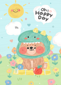 ONNIE BEAR is happy day