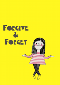 Nualnapa, Forgive and forget.