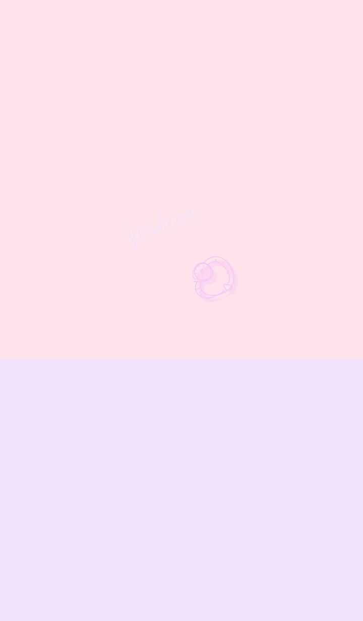 fashion purple pink