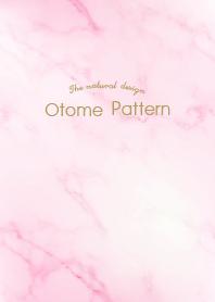 Otona Pattern Marble pink W...