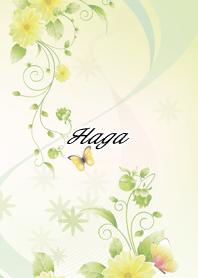 Haga Butterflies & flowers