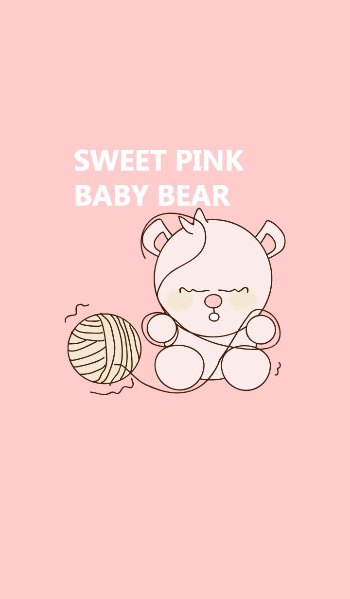 Sweet pink baby bear 32