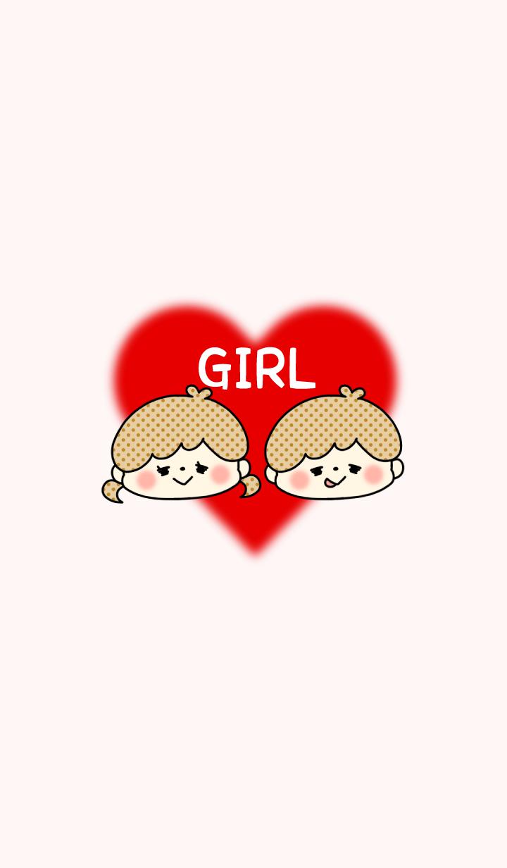 -LOVELY COUPLE THEME- GIRL / No.8