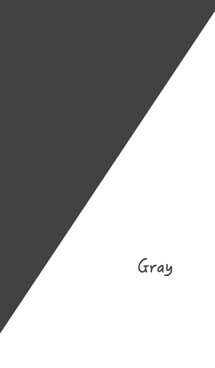 Simple Gray & White No.10