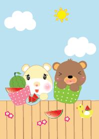 Cute animals theme v.9