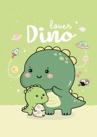 Dino Lover. (Green)
