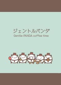 Gentle-PANDA coffee time thema #cool