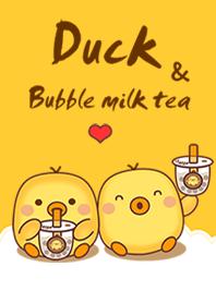 Duck & Bubble milk tea