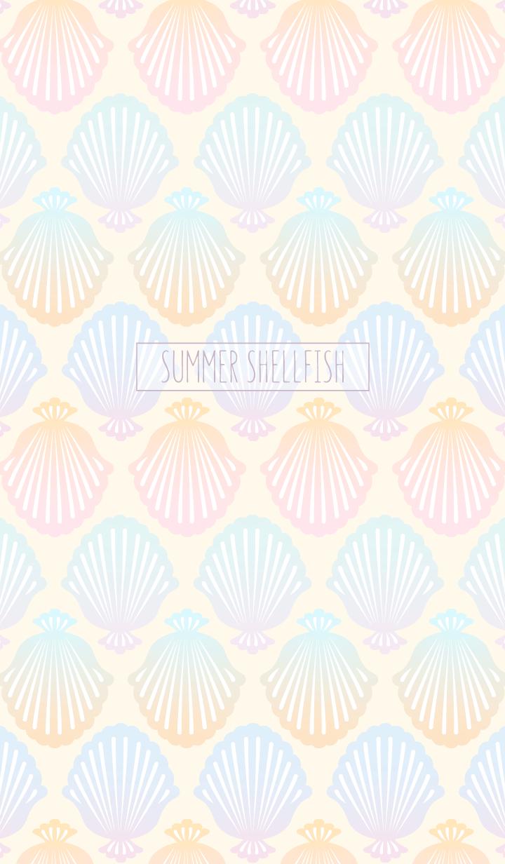 Summer shellfish/pink beige