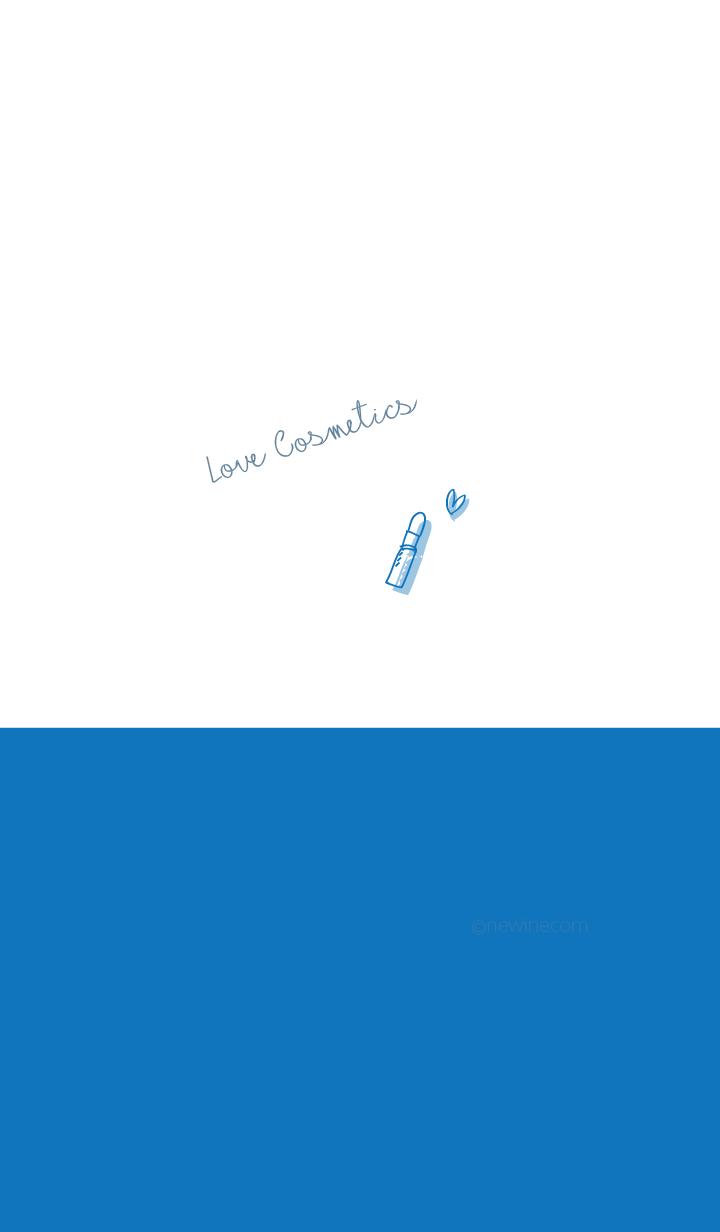 Love Cosmetics blue white