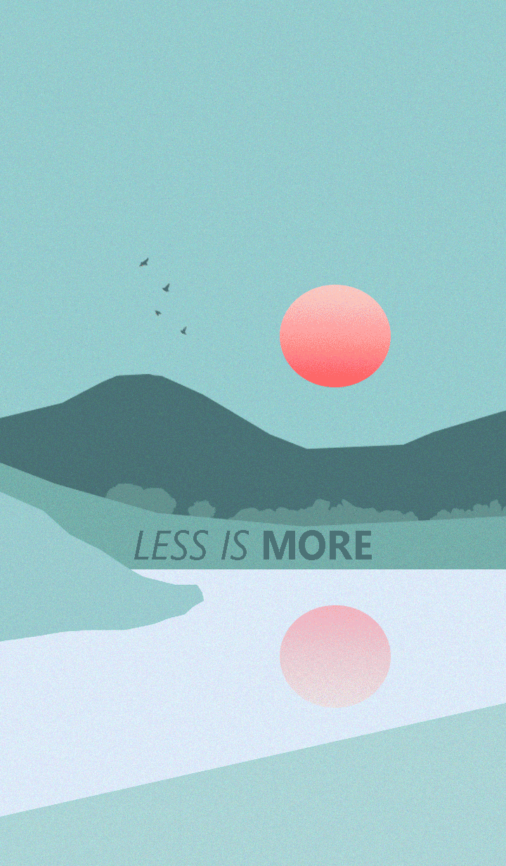 Less is more - #13 Nature