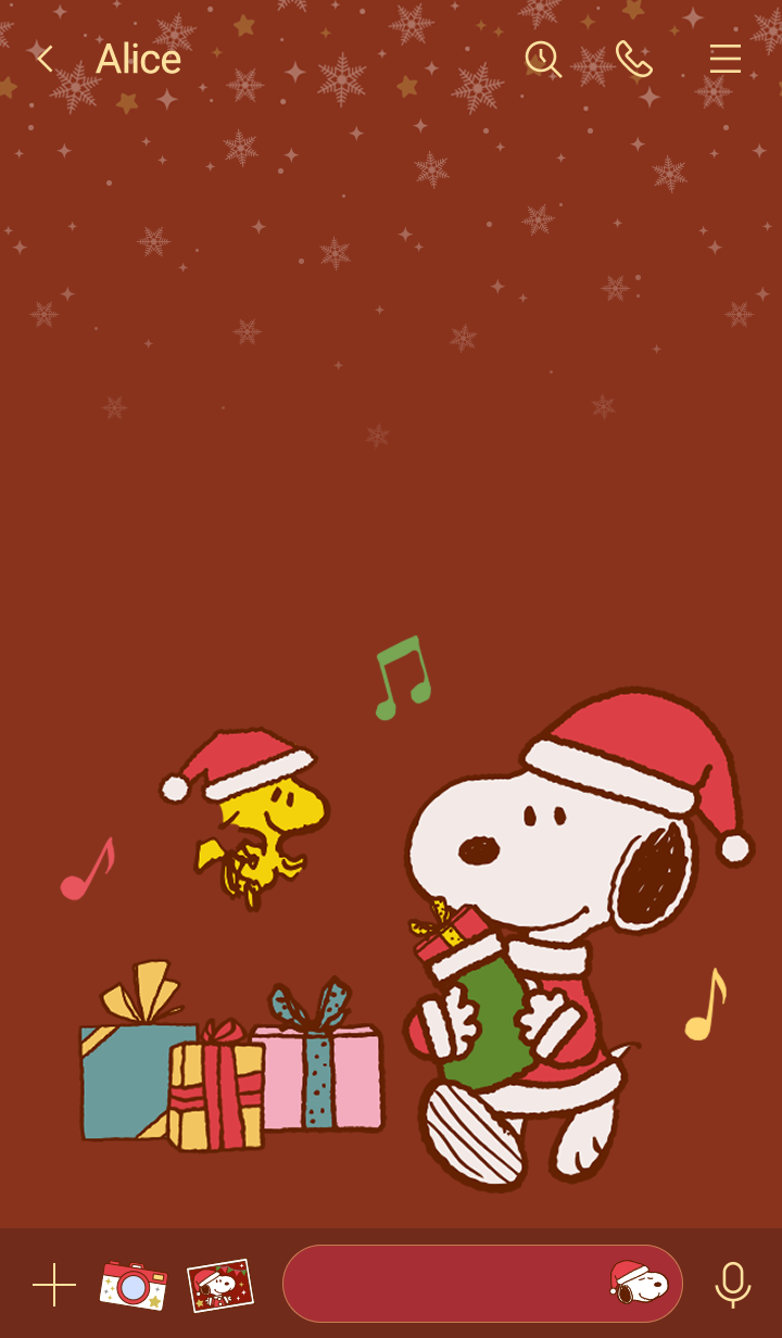 Snoopy & Woodstock (Christmas)