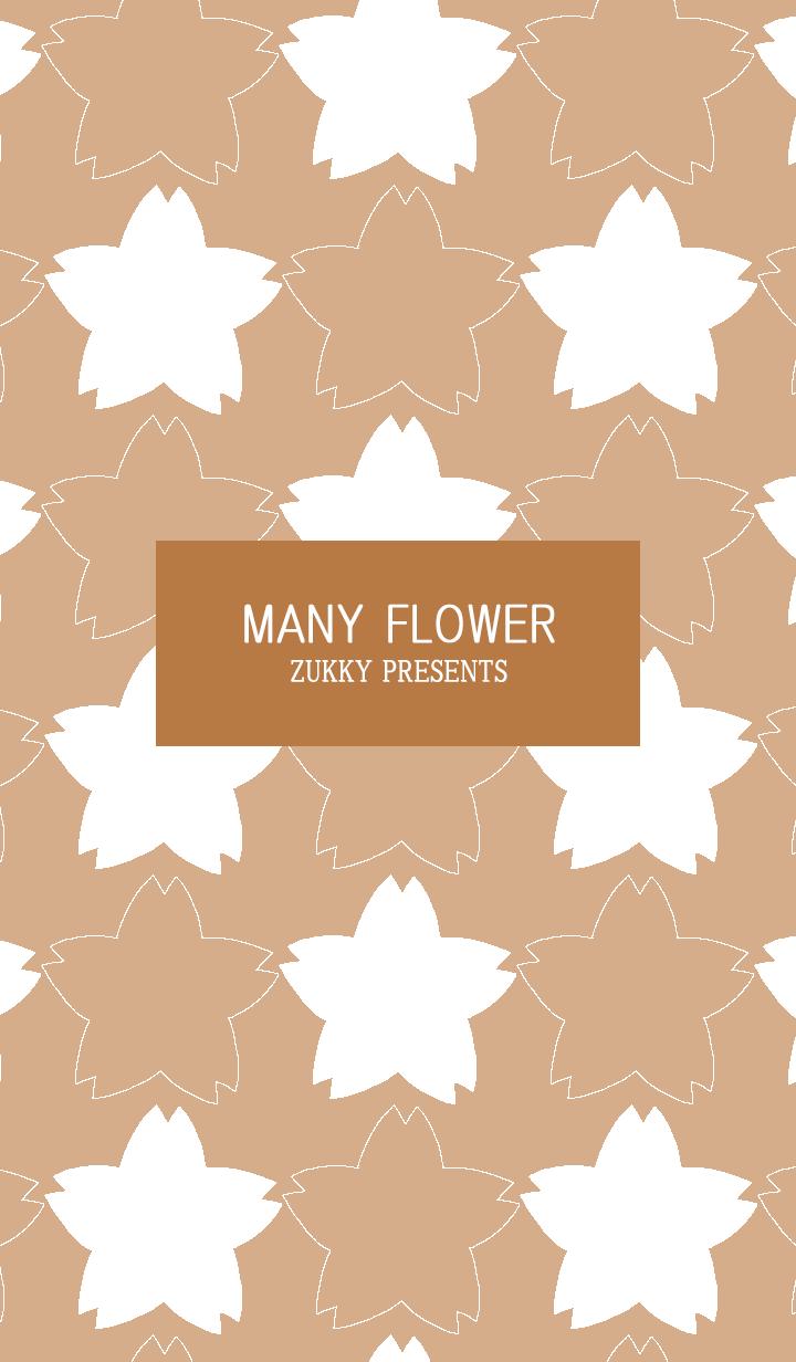 MANY FLOWER68