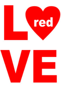 LOVE red(simple heart)