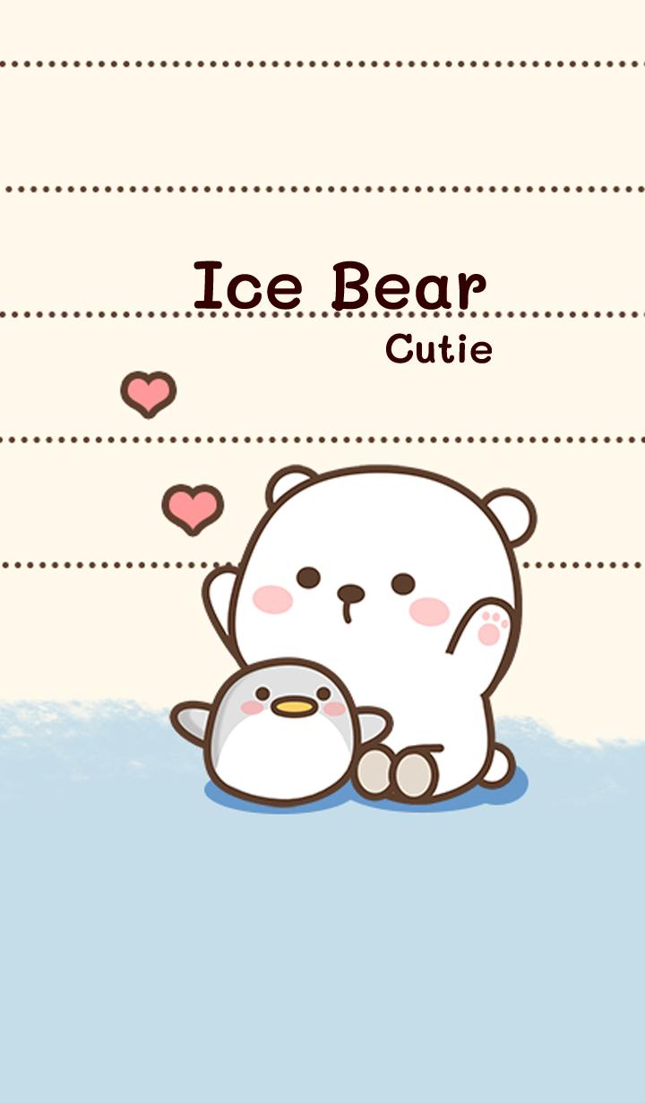 Ice bear cutie