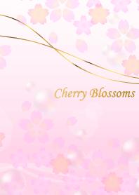 櫻花春天的顏色粉紅色